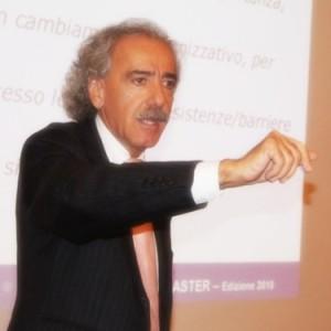 Il dott. Franco Spinelli durante un Master S&A